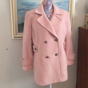 Talbots wool pea coat jacket